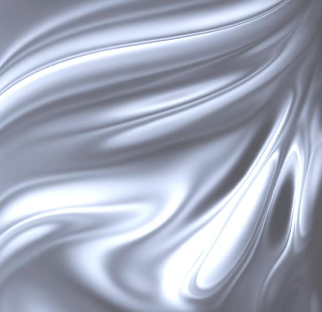 Komputer z abstrakcyjnym chromowanym tłem wygenerowany dla twoich projektów
