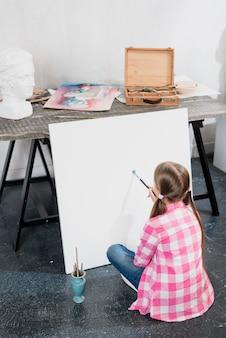 Koncepcja artysty z dziewczyną