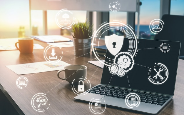 Koncepcja bezpieczeństwa cybernetycznego i ochrony danych cyfrowych