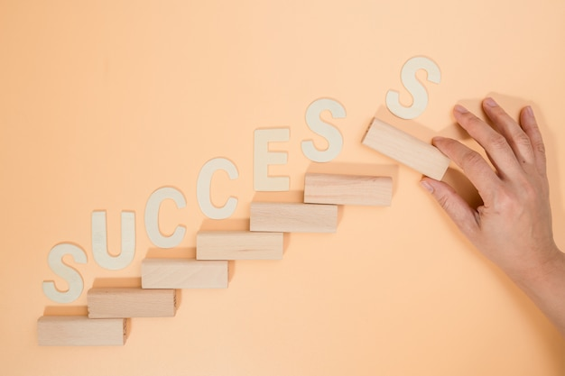 Koncepcja biznesowa dla sukcesu procesu wzrostu.