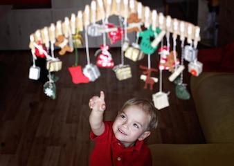 Koncepcja Boże Narodzenie i nowy rok