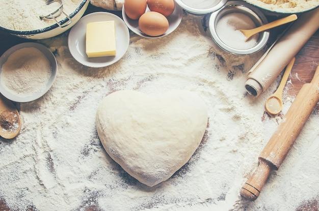 Koncepcja ciasta i kuchni