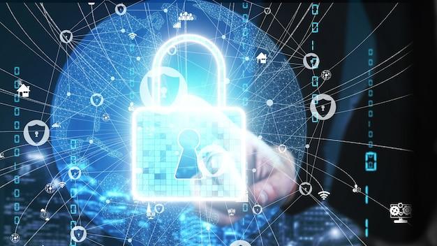 Koncepcja cyberbezpieczeństwa i ochrony danych cyfrowych