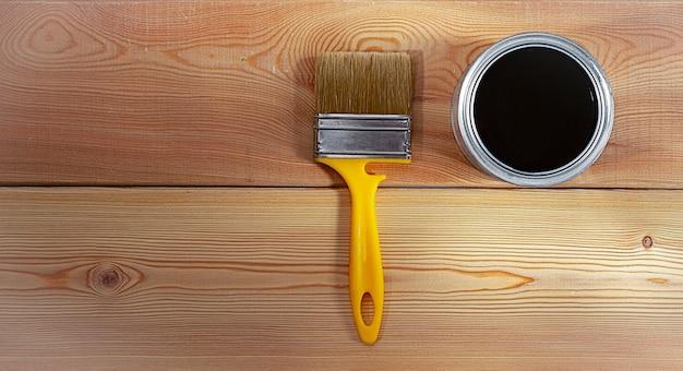 Koncepcja drewniane tła