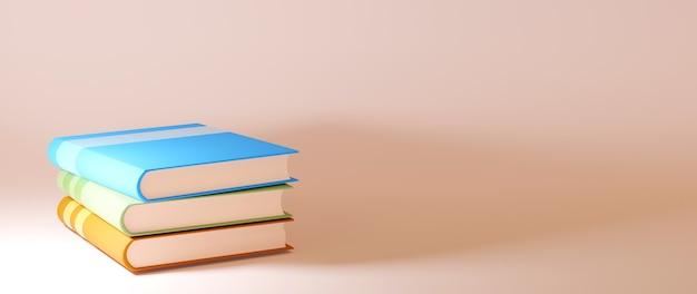 Koncepcja edukacyjna, książki na pomarańczowo