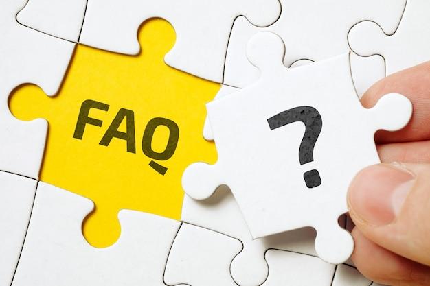 Koncepcja faq dotycząca głównych zagadnień związanych z grą planszową.