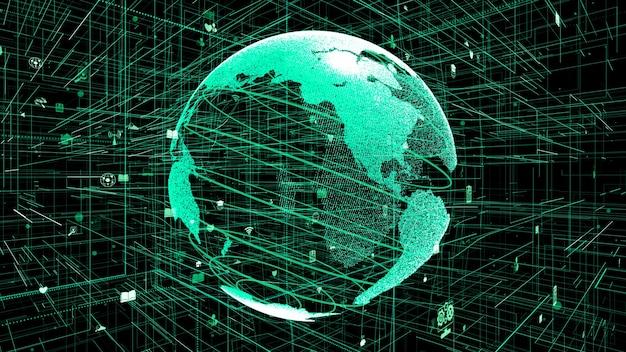 Koncepcja globalnej sieci internetowej online