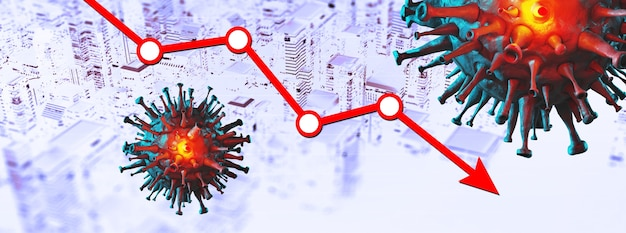 Koncepcja gospodarki światowej i koronawirusa. wpływ koronawirusa na giełdę.
