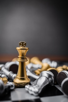 Koncepcja gry planszowej koncepcji pomysłów biznesowych i konkurencji