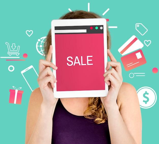 Koncepcja handlu płatnościami za zakupy online