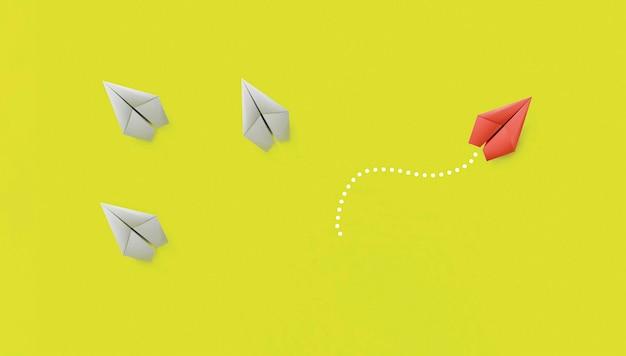 Koncepcja indywidualności wśród papierowych samolotów