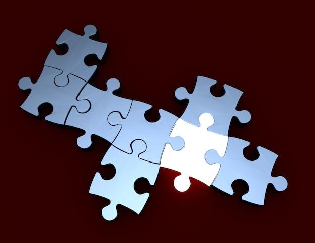 Koncepcja innowacji logicznej. ilustracja 3d