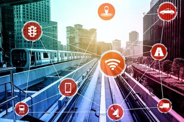 Koncepcja inteligentnej technologii transportowej dla przyszłego ruchu samochodowego na drogach