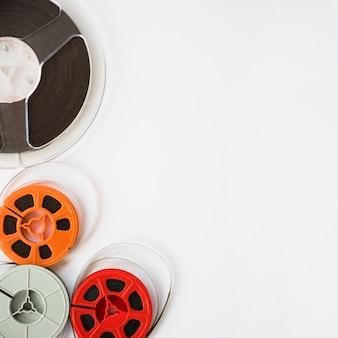 Koncepcja kina z rolką