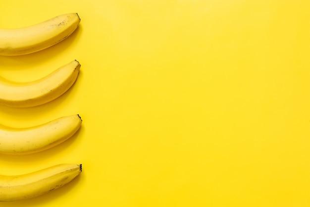 Koncepcja kolorowy banan