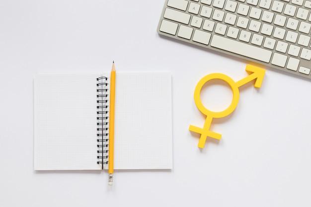 Koncepcja kolorowy symbol równych praw