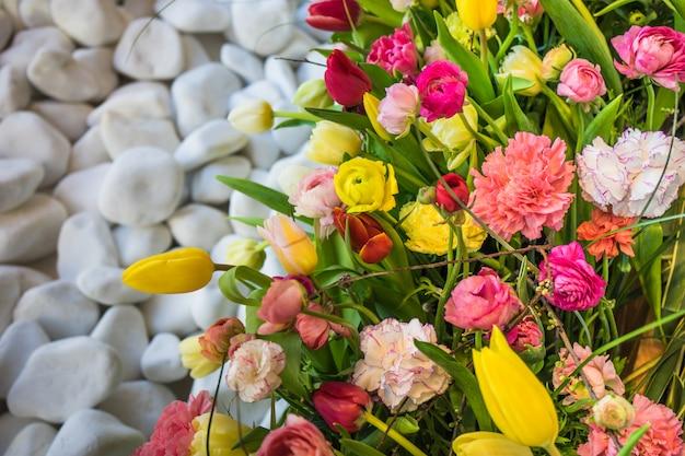 Koncepcja kwiatowy wiosna