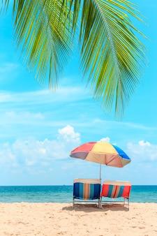Koncepcja lata, podróży, wakacji i wakacji.