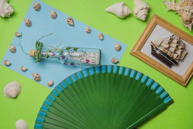 Koncepcja letni z hiszpańskim wentylatorem