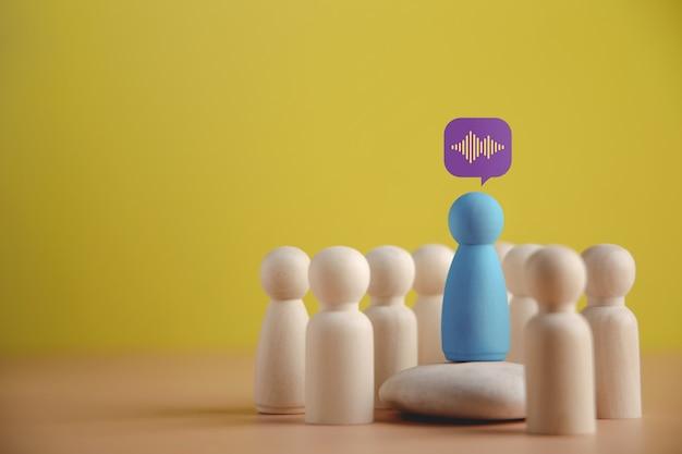 Koncepcja mówcy lidera lub trenera