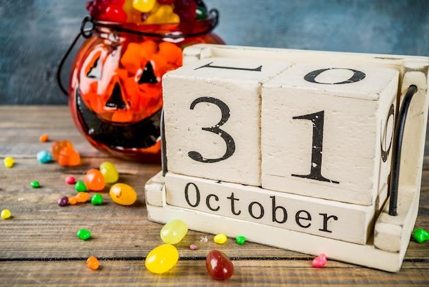 Koncepcja obchodów halloween