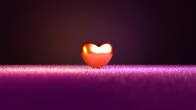 Koncepcja obchodów rocznicy na różowym tle dla szczęśliwych kobiet, ojca matki, słodkiego serca