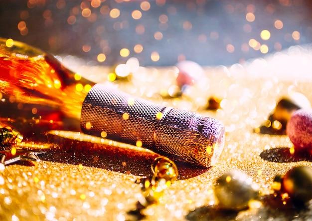 Koncepcja obchodów świąt bożego narodzenia lub nowy rok