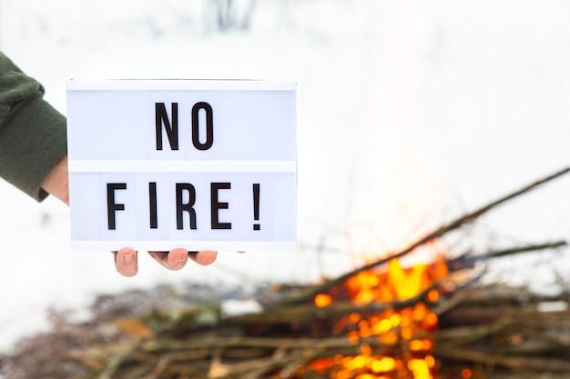 Koncepcja ochrony przyrody przed pożarami lasów