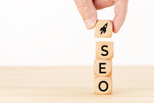 Koncepcja optymalizacji seo lub wyszukiwarek
