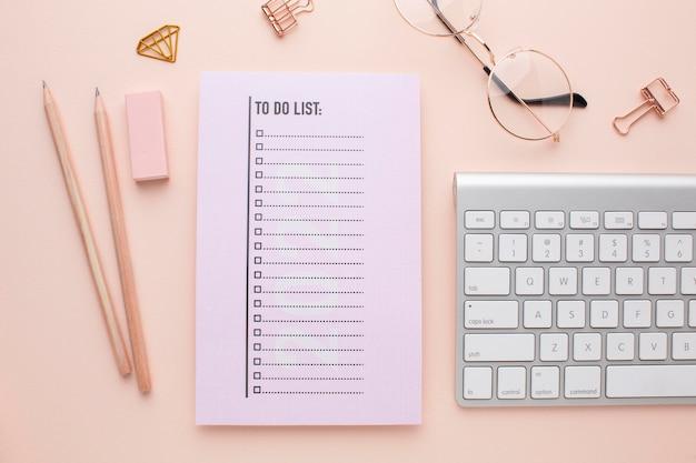 Koncepcja organizacji czasu z widokiem z góry planisty