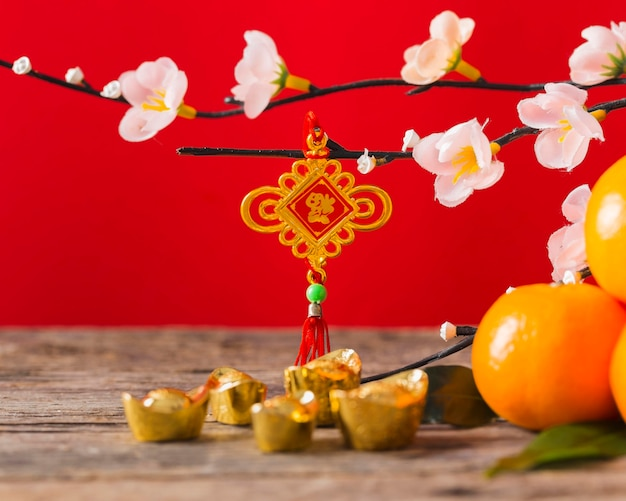 Koncepcja piękny chiński nowy rok