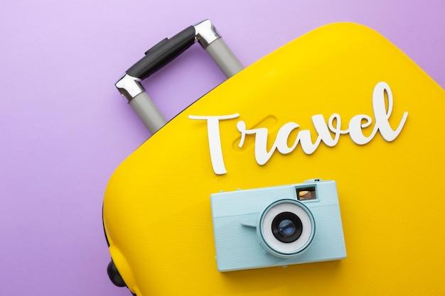 Koncepcja podróży z bagażem