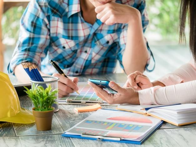 Koncepcja pracy zespołowej. uruchomienie planu biznesowego i omawianie koncepcji spotkania z inżynierią danych cyfrowych, dokumentacyjnych