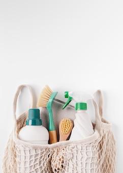 Koncepcja produktów ekologicznych z miejsca na kopię