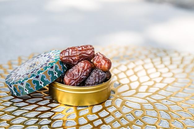 Koncepcja ramadanu i niektóre daty w islamskim pojemniku wzoru