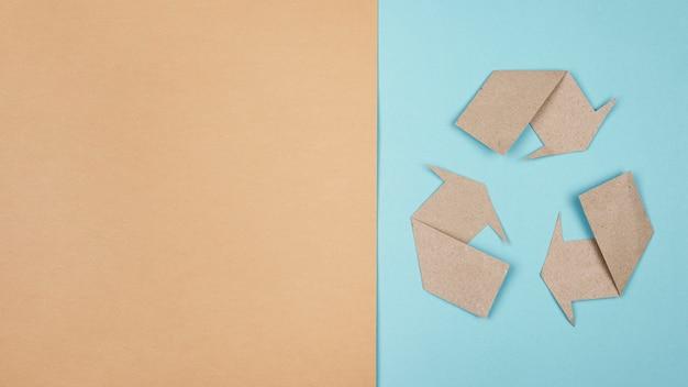 Koncepcja recyklingu płaskiego lay