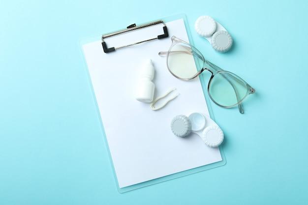 Koncepcja soczewek kontaktowych do oczu, ochrona zdrowia