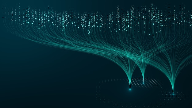 Koncepcja technologii big data.