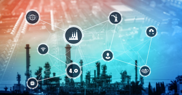 Koncepcja technologii industry 4.0 - inteligentna fabryka dla czwartej rewolucji przemysłowej