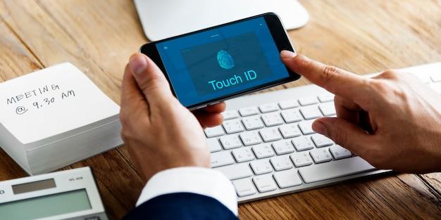 Koncepcja technologii internetowej połączenia dostępu