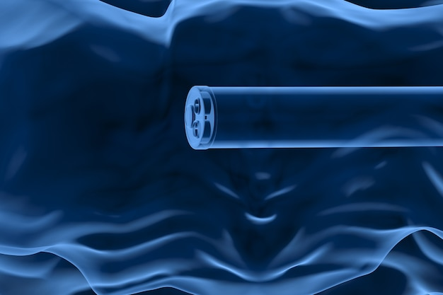 Koncepcja technologii kolonoskopii z endoskopem rentgenowskim renderującym 3d wewnątrz jelita