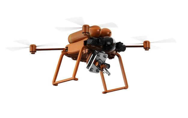 Koncepcja technologii rolnictwa z latającym dronem rolniczym