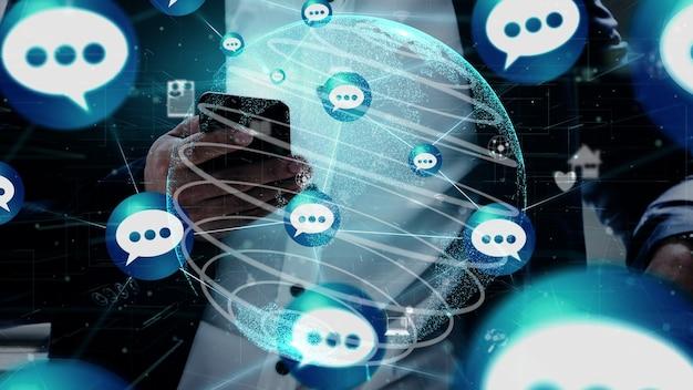 Koncepcja technologii sieci społecznościowych i sieci osób