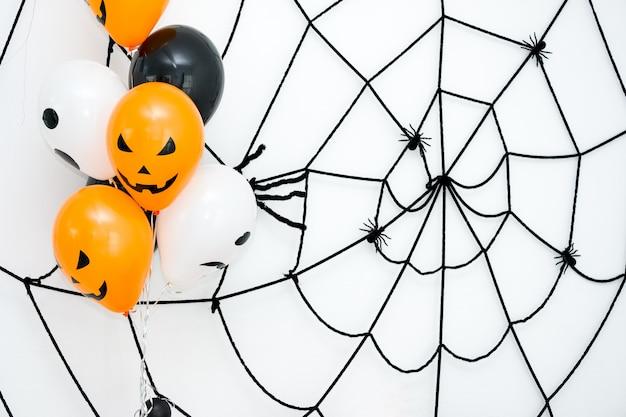 Koncepcja tła halloween