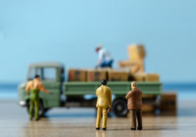 Koncepcja transportu logistycznego magazyn transportu