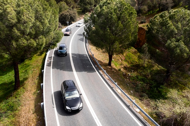 Koncepcja transportu samochodami na drogach