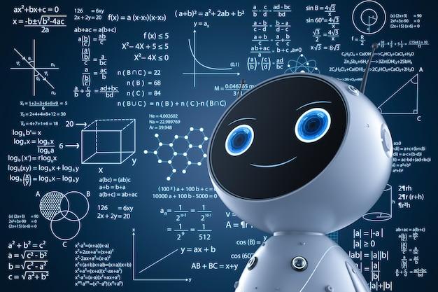 Koncepcja uczenia maszynowego z uczeniem się robotów renderujących 3d lub rozwiązywaniem problemów matematycznych