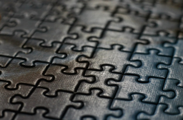 Koncepcja ułożona z puzzli