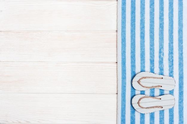 Koncepcja wakacji na plaży