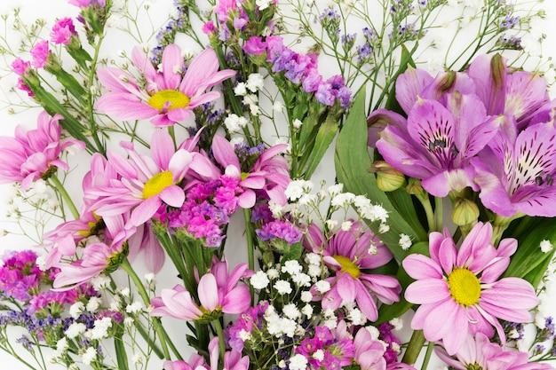 Koncepcja wiosna z pięknymi kwiatami